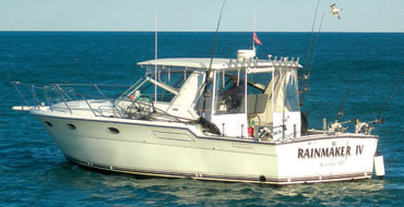 Charter Fishing Boat Rainmaker IV