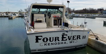 Charter Fishing Boat Fourever