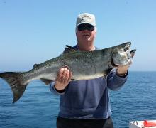Checkout this Lake Michigan salmon!