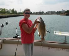 Everyone enjoys fishing on Lake Michigan with Kenosha Charter Boat Association!
