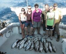 Charter boat fishing is fun for the whole family!
