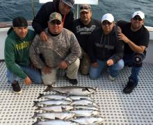 Great haul with Kenosha Charter Boat Association