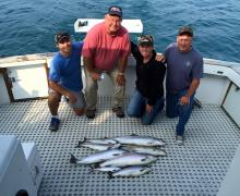Good catch on Lake Michigan with Kenosha Charter Boat Association!