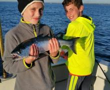 Family fun on Lake Michigan with Kenosha Charter Boat Assoaciation