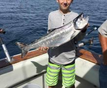 Charter boat fishing is fun for any age!