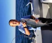 Great salmon from Kenosha.
