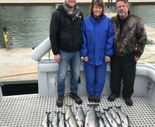 Another great Charter Boat trip and haul!