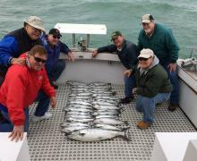 Lake Michigan provides once again