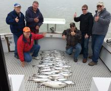 Great job Captain Frank! Fill your freezer with fresh Great Lakes salmon