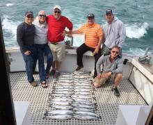 Nice catch on Lake Michigan!