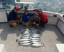 Looks like another successful day of fishing with Kenosha Charter Boat Association!!
