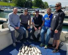 Another successful catch with Kenosha Charter Boat Association
