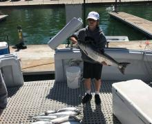 Great catch with Kenosha Charter Boat Association!