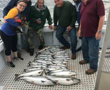 Catching the limit with Kenosha Charter Boat Association