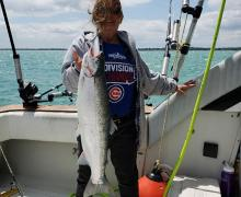 Look at that catch from Lake Michigan!