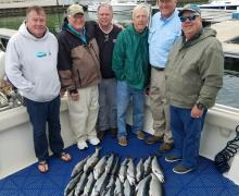 Check out the catch of the day straight from Lake Michigan