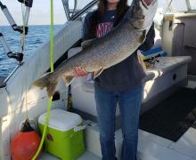 Look at this catch from Lake Michigan!