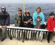 Fishing on Lake Michigan is fun for the whole family!