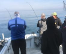 Two fish on at Once! Great Time!