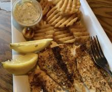 Another great plate of fresh caught fish!